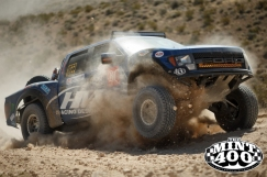 The course takes it toll on a vehicle racing the 2015 Polaris RZR Mint 400. Photo courtesy of the Mint 400.