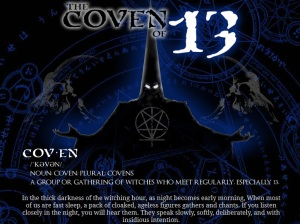 Brand New for 2015...experience the chills of Coven 13 at Freakling Bros. (Photo courtesy www.freaklingbrothers.com)