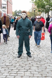Meeting Michael Myers himself is a sure bet this year somewhere...on the streets of Salem...